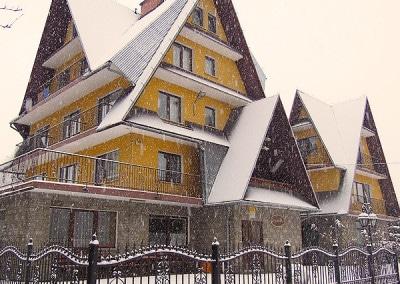 sylwester w górach Zagatówka Biały Dunajec