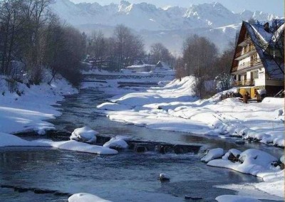 sylwester w górach Biały Dunajec