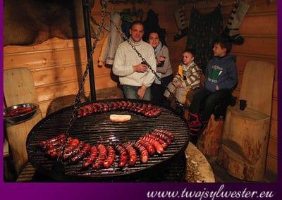 sylwester w górach impreza góralska Małgosia